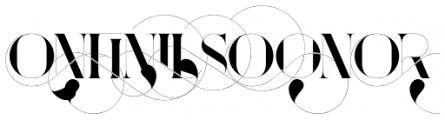 Port Vintage Words Font LOWERCASE