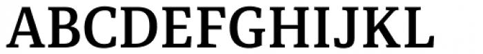 Portada Semi Bold Font UPPERCASE