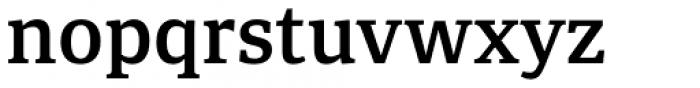 Portada Semi Bold Font LOWERCASE