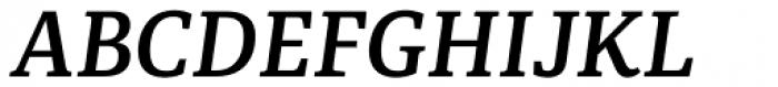 Portada SemiBold Italic Font UPPERCASE