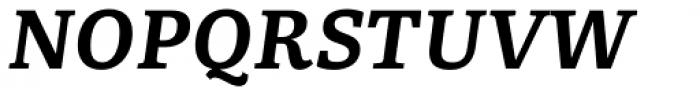 Portada Text Semi Bold Italic Font UPPERCASE