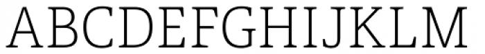 Portada Thin Font UPPERCASE