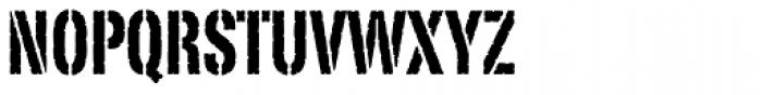 Portago Std Font UPPERCASE