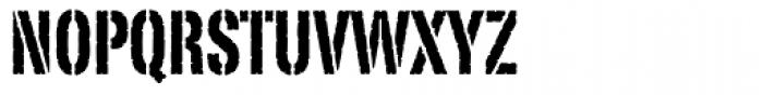Portago Font UPPERCASE