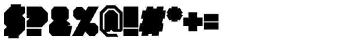 Portal Black Font OTHER CHARS