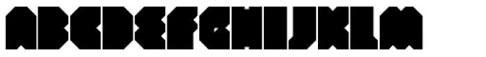Portal Black Font UPPERCASE