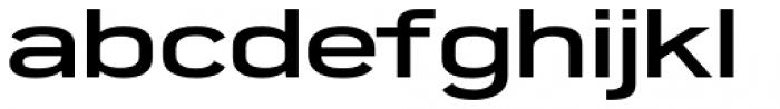 Porter FT Semi Bold Font LOWERCASE