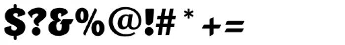 Portobello RR ExtraBold Font OTHER CHARS
