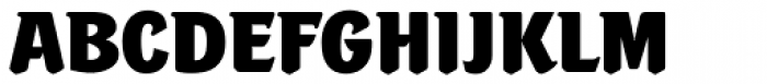 Portobello RR ExtraBold Font UPPERCASE