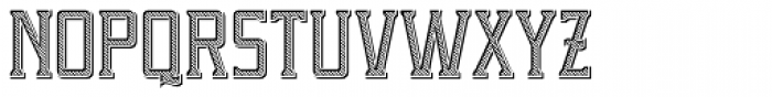 Portsmouth Loaded Font UPPERCASE