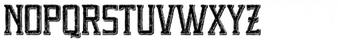 Portsmouth Second Fleet Textured Font UPPERCASE