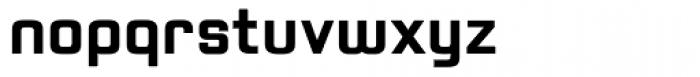Positec Bold Font LOWERCASE