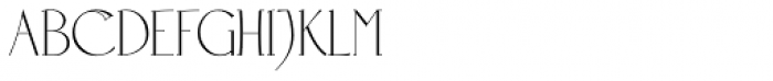 Positronic Toaster Font UPPERCASE