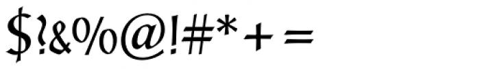 Post-Antiqua BE Regular Font OTHER CHARS