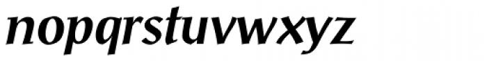 Post-Antiqua Pro Medium Italic Font LOWERCASE