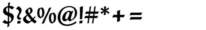 Post-Antiqua Pro Medium Font OTHER CHARS