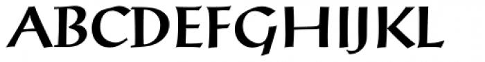 Post-Antiqua Pro Medium Font UPPERCASE