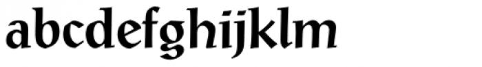 Post-Antiqua Pro Medium Font LOWERCASE