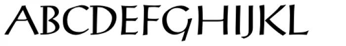 Post-Antiqua Pro Regular Font UPPERCASE