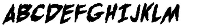 Post Mortem UC BB Bold Font UPPERCASE
