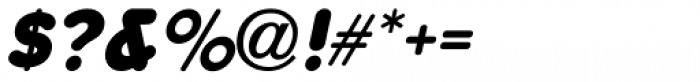 Poster Pen Oblique JNL Font OTHER CHARS