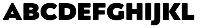 Posterama Text Ultra Black Font