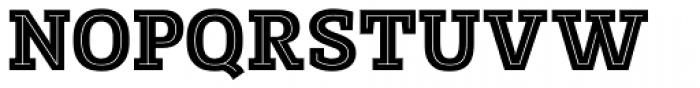 Posterizer KG Inline Font UPPERCASE