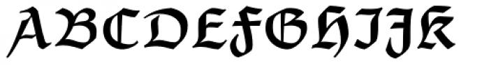 Postillon Halbfett Font UPPERCASE