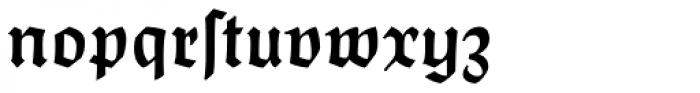 Postillon Halbfett Font LOWERCASE