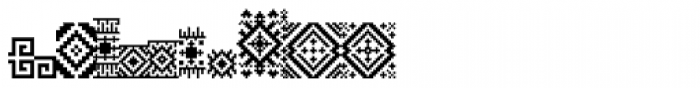 Powder Patterns Font LOWERCASE