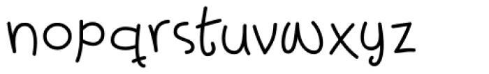 Powder Punk Font LOWERCASE