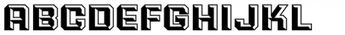 PowerStation Block Wide Font LOWERCASE