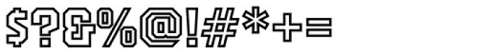 PowerStation Outline Font OTHER CHARS