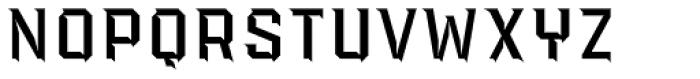 PowerStation Wedge High Font UPPERCASE