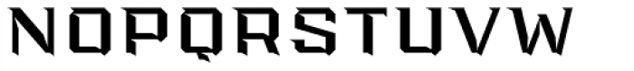 PowerStation Wedge Wide High Font UPPERCASE