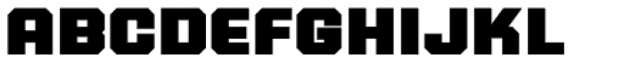 PowerStation Wedge Wide Low Font LOWERCASE