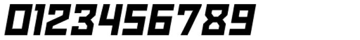 Powerlane Black Oblique Font OTHER CHARS