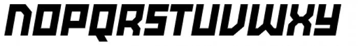 Powerlane ExtraBlack Oblique Font UPPERCASE