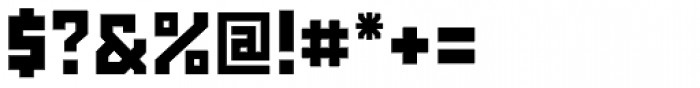 Powerlane ExtraBlack Font OTHER CHARS