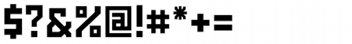 Powerlane ExtraBold Font OTHER CHARS