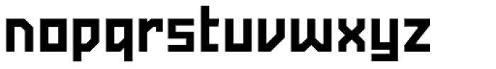 Powerlane ExtraBold Font LOWERCASE