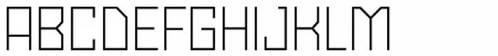Powerlane Light Font UPPERCASE