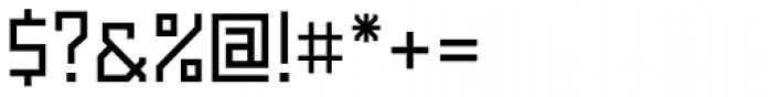 Powerlane Medium Font OTHER CHARS