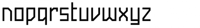 Powerlane Medium Font LOWERCASE