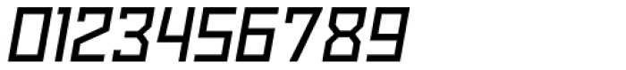 Powerlane SemiBold Oblique Font OTHER CHARS