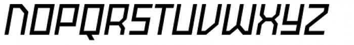 Powerlane SemiBold Oblique Font UPPERCASE