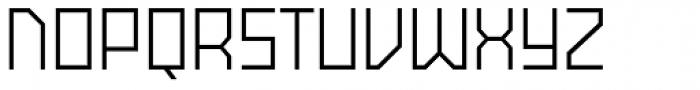 Powerlane Font UPPERCASE