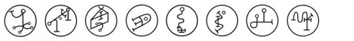 Powers Of Marduk Font UPPERCASE