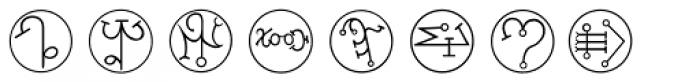Powers Of Marduk Font LOWERCASE