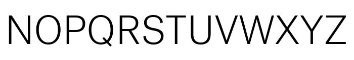 Post Grotesk Light Font - What Font Is